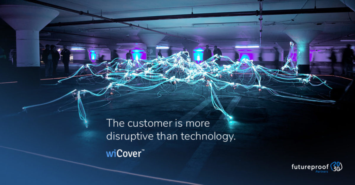 The customer is more disruptive than technology