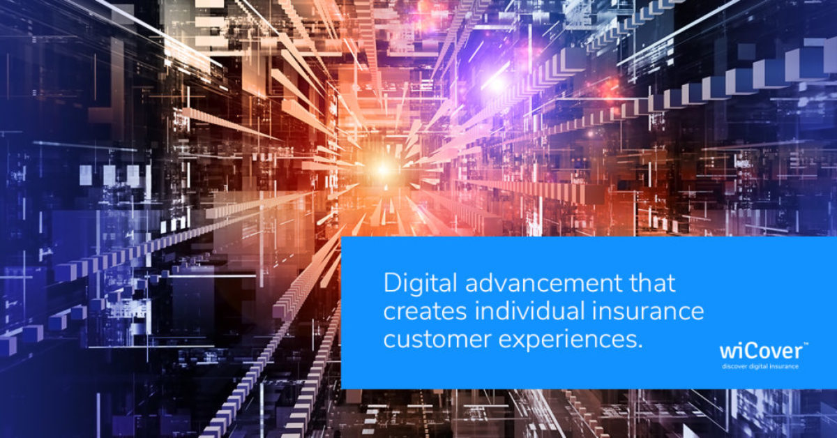 Digital advancement that creates individual insurance customer experience