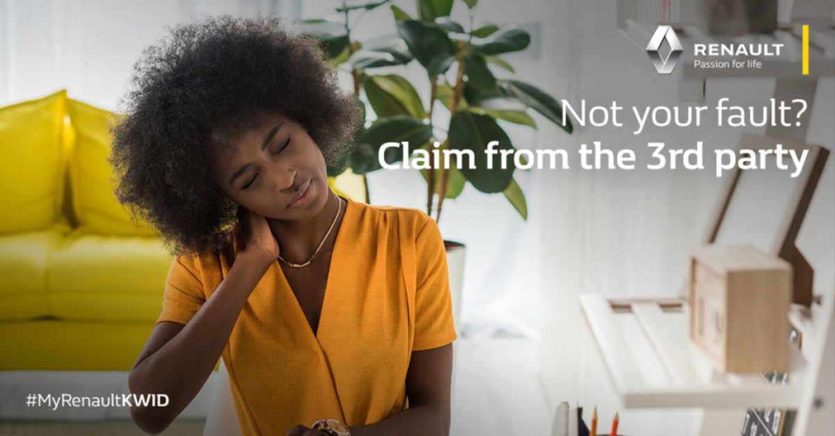 Not your fault? Claim from 3rd party