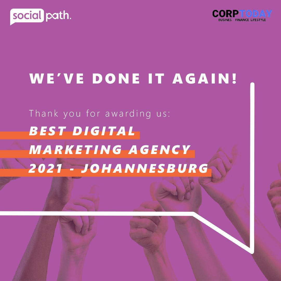 Best Digital Marketing Agency Johannesburg 2021