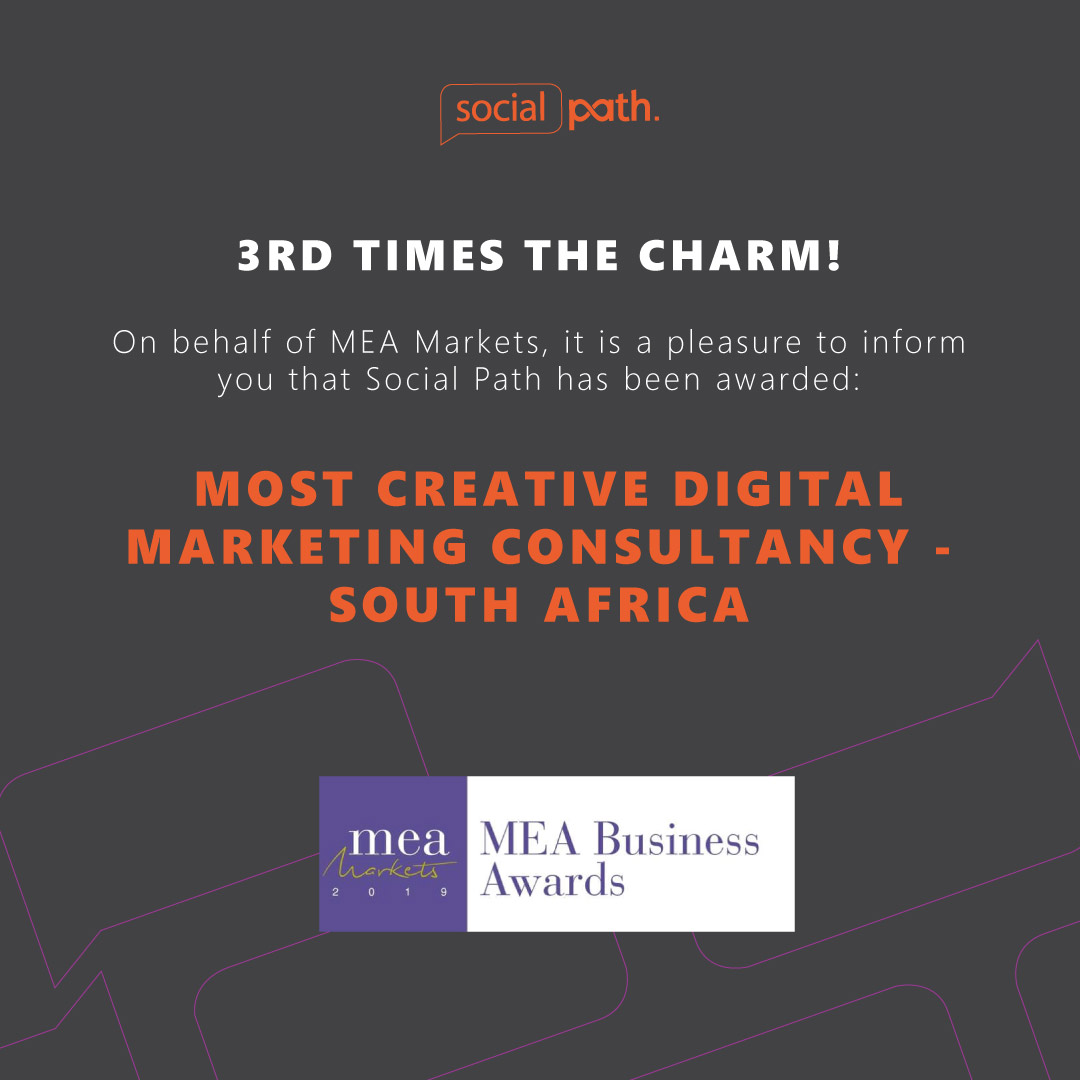 Most Creative Digital Marketing Consultancy Award South Africa