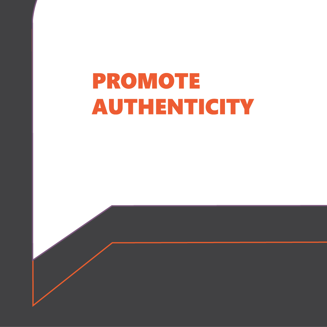 Authentic digital marketing